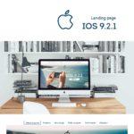 Дизайн сайта IOS приложения